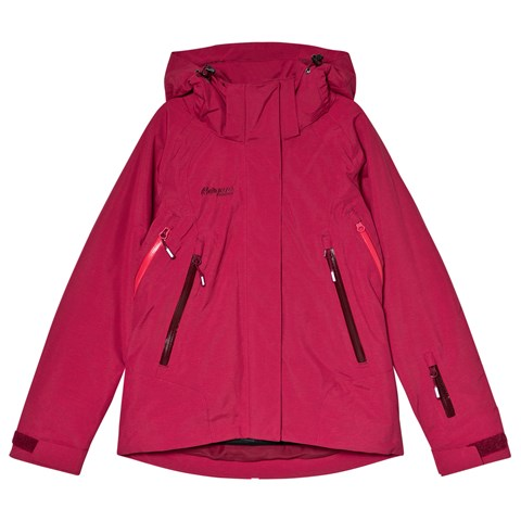 24592aef Bergans Red Ervik Insulated Youth Ski Jacket | AlexandAlexa