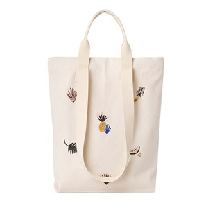 FERM LIVING | Ferm LIVING Cream Fruiticana Tote Bag One Size | Goxip