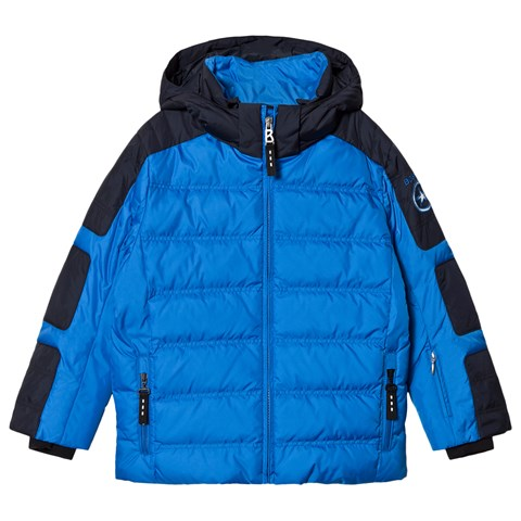 Bogner Blue And Navy Jerome-D Ski Jacket