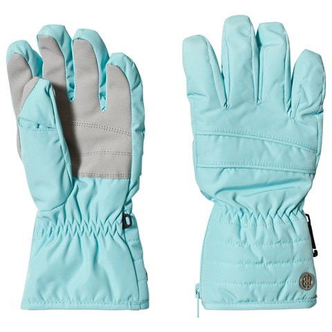 Poivre Blanc Ice Blue Branded Ski Gloves