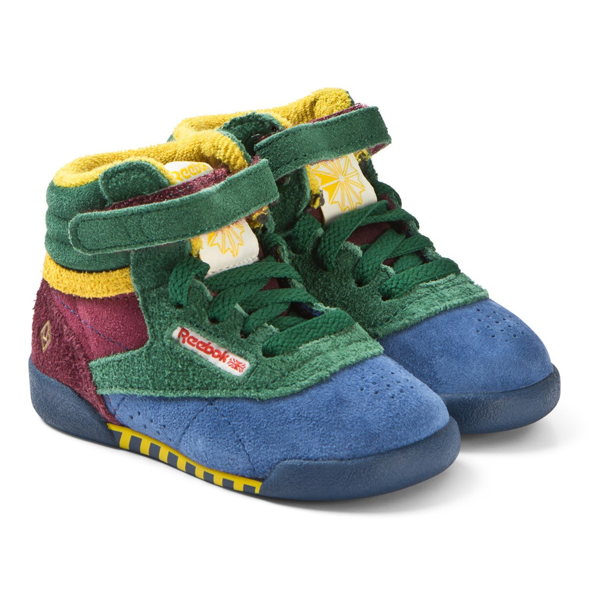 bacb4c550d9c The Animals Observatory Red Blue And Green TAO Freestyle Infants Hi-Top  Trainers