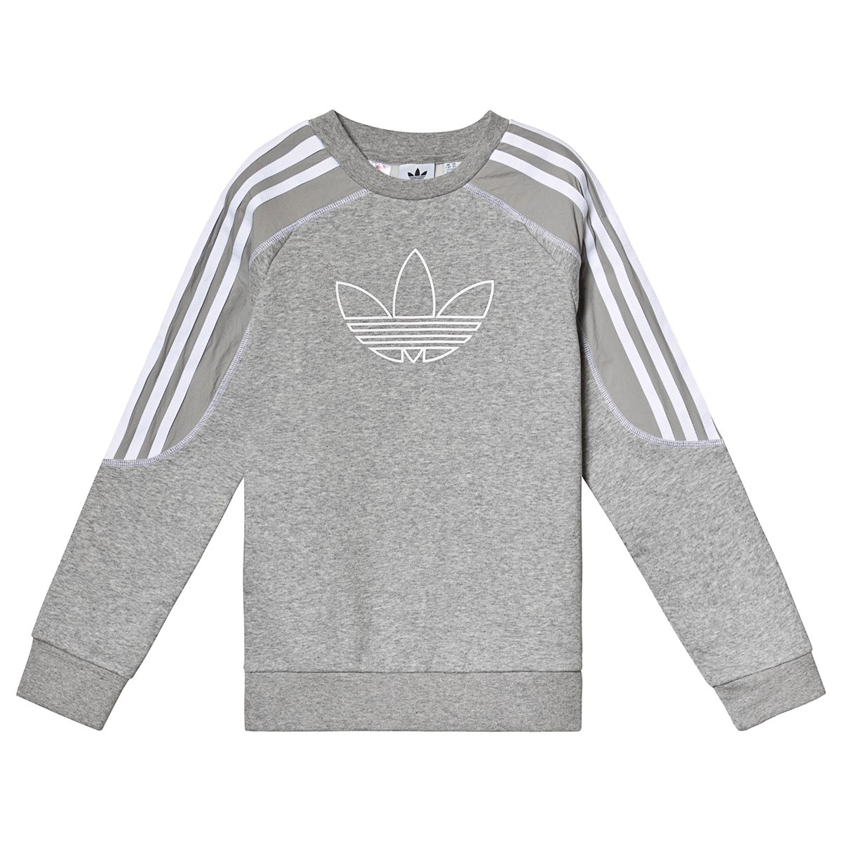 Allsaints Seattle Wa: Adidas Originals Grey Branded Sweatshirt