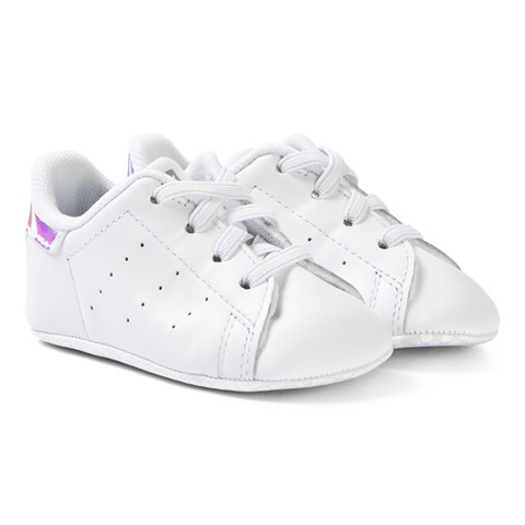 f4d694a9bbbac7 adidas Originals White Stan Smith Crib Trainers