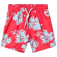 e482ee7dc2 Red Floral Board Shorts