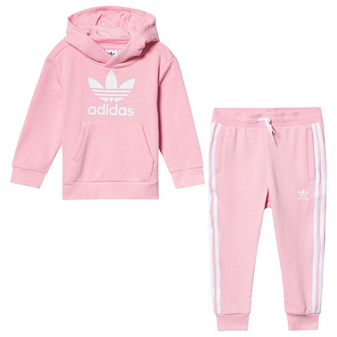 adidas Originals Light Pink Trefoil Tracksuit