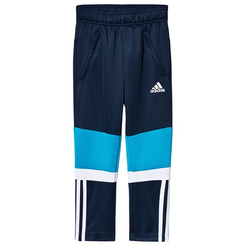 adidas Performance Navy, Blue and White Track Pants