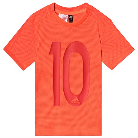adidas Performance Red 10 Messi T-Shirt