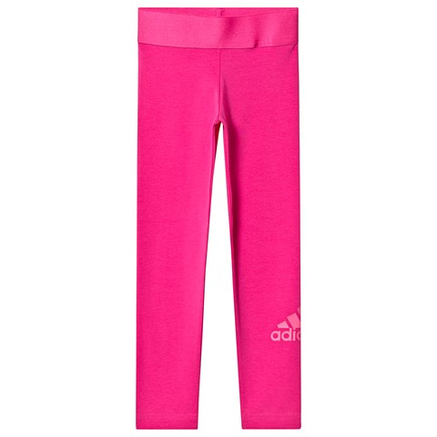 adidas Performance Pink Logo Leggings