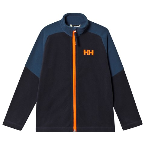 Helly Hansen Blue Colourblock Daybreaker Junior Mid Layer
