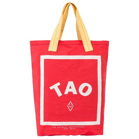 The Animals Observatory Red Tao Tote Bag