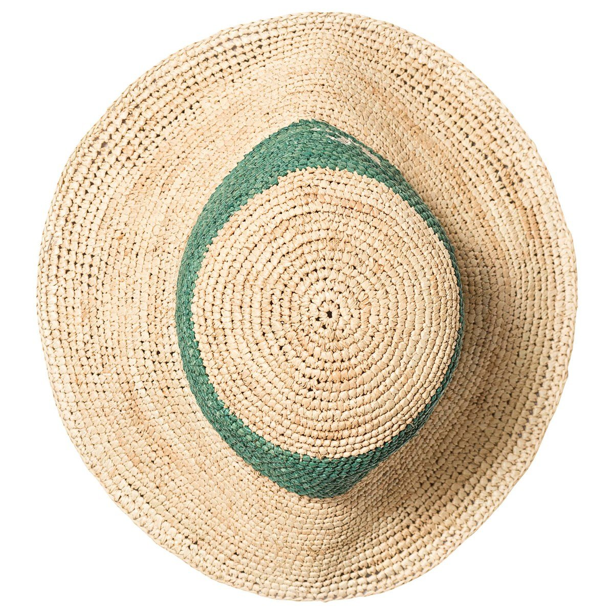 60f2b9a59 Bobo Choses Beige & Green B.C. Wicker Hat | AlexandAlexa