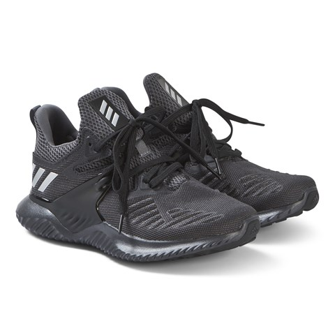 2bbe0368f0542 adidas Performance Black and Grey Alphabounce Beyond Trainers ...