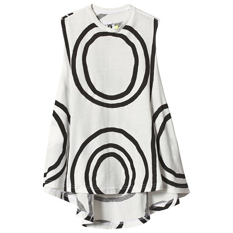 NUNUNU White 360 Circle Dress