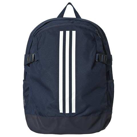 adidas Performance Navy White Branded Stripes Backpack