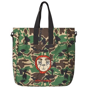 MINI RODINI | Mini Rodini Green Camo Gym Bag One Size | Goxip
