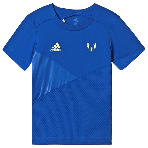 adidas Performance Royal Blue Messi T-Shirt