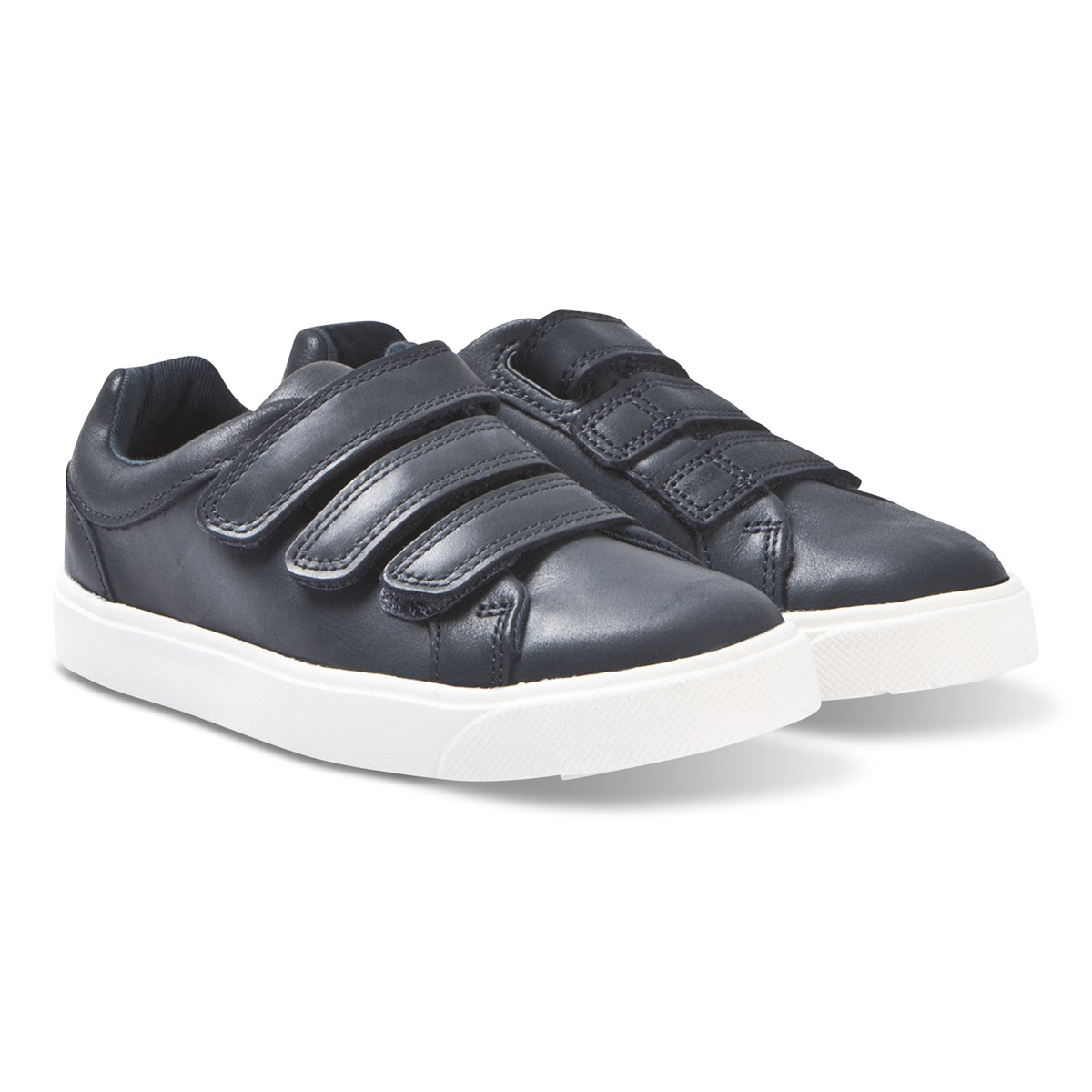 Clarks Navy City Oasis Trainers
