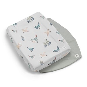 ELODIE DETAILS | Elodie Details Pack of 2 Feathered Friends Changing Pad Covers One Size | Goxip