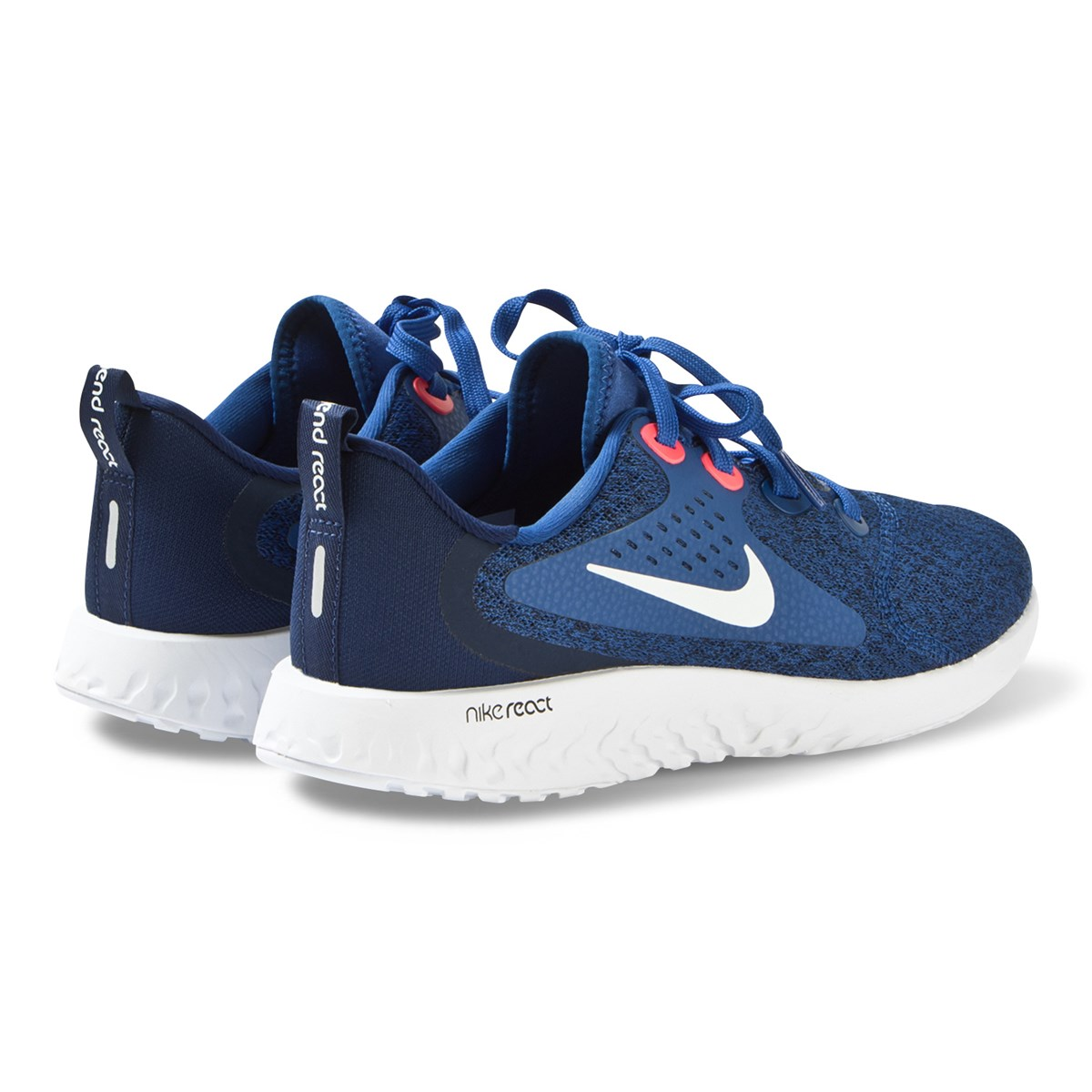 check out 564d7 5c2ae Nike Blue Nike Legend React Running Trainers   AlexandAlexa