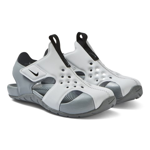 Nike Grey Nike Sunray Protect 2 Sandals