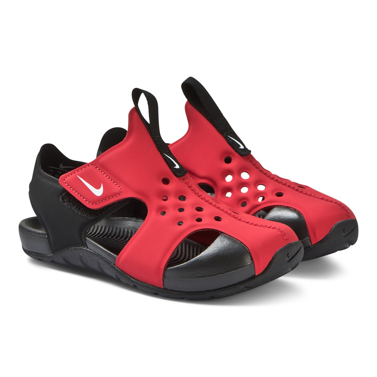 994e6914d2ca Nike Red and Black Nike Sunray Protect 2 Sandals