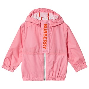 BURBERRY | Burberry Burberry Pink Austin Branded Hooded Coat 18 months | Goxip