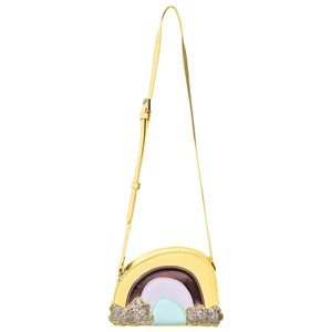 SOFT GALLERY   Soft Gallery Yellow Rainbow Applique Bag One Size   Goxip