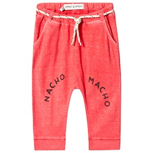 SPROET AND SPROUT | Sproet and Sprout Sproet and Sprout Red Nacho Macho Sweatpants 62-68 (3-6 months) | Goxip