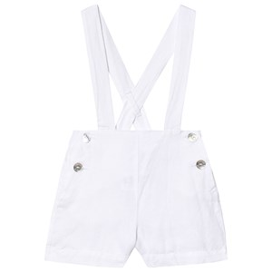 CYRILLUS | Cyrillus Cyrillus White Shorts with Braces 9 months | Goxip