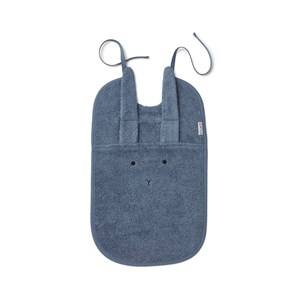LIEWOOD | Liewood Blue Wave Theo Rabbit Bib One Size | Goxip