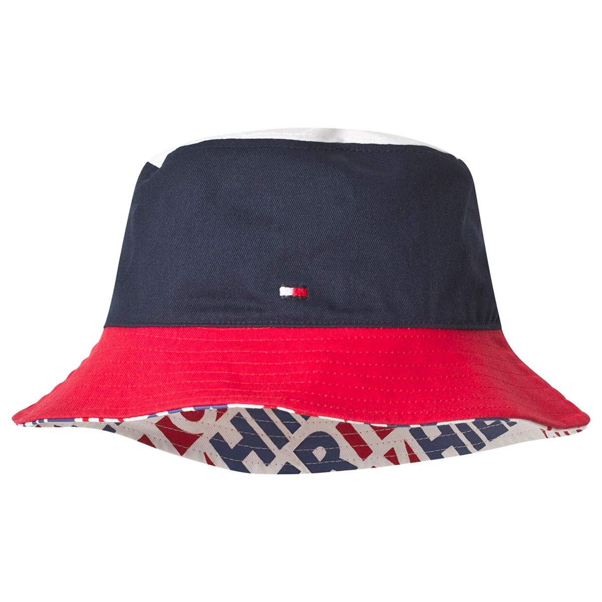 23edf73d7d62a Tommy Hilfiger Navy   Red Reversible Bucket Hat