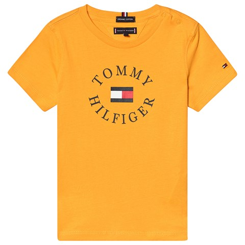3d40ea88ee6fe Tommy Hilfiger Yellow Essential Branded Graphic T-Shirt