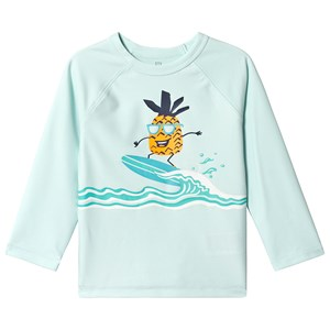 GAP | Gap Blue Pineapple Rashguard Top 5 Years | Goxip