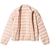 479a53b09 Pale Pink Lans Quilted Down Jacket