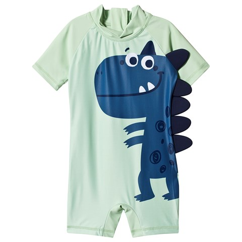 Kuling Green Dinosaur UV Suit