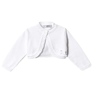 DR. KID | Dr Kid White Knitted Cardigan 3 months | Goxip