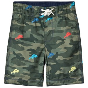 GAP | Gap Green Camo Spring Swim Trunks XS (4-5 Years) | Goxip