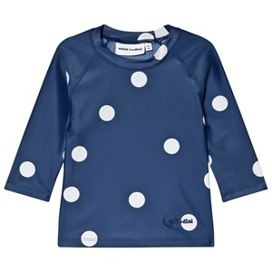 MINI RODINI | Mini Rodini Navy Dot UV Top 128-134cm (8-9 years) | Goxip
