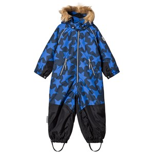 TICKET TO HEAVEN | Ticket To Heaven Ticket To Heaven Noa Snow Suit Allover Total Eclipse Blue 116 cm (5-6 Years) | Goxip
