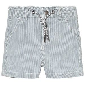 CYRILLUS | Cyrillus Cyrillus Blue and White Stripe Shorts 6 months | Goxip