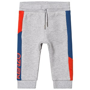 KENZO KIDS | Kenzo Kids Grey Colourblock Branded Sweat Pants 9 months | Goxip