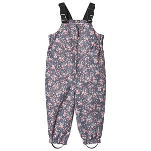 WHEAT | Wheat Multi Floral Robin Outdoor Overalls 74 cm (6-9 Months) | Goxip