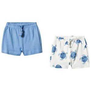 GAP | Gap Gap Buxton Blue & Turtle Print Set of 2 Shorts 6-12 Months | Goxip