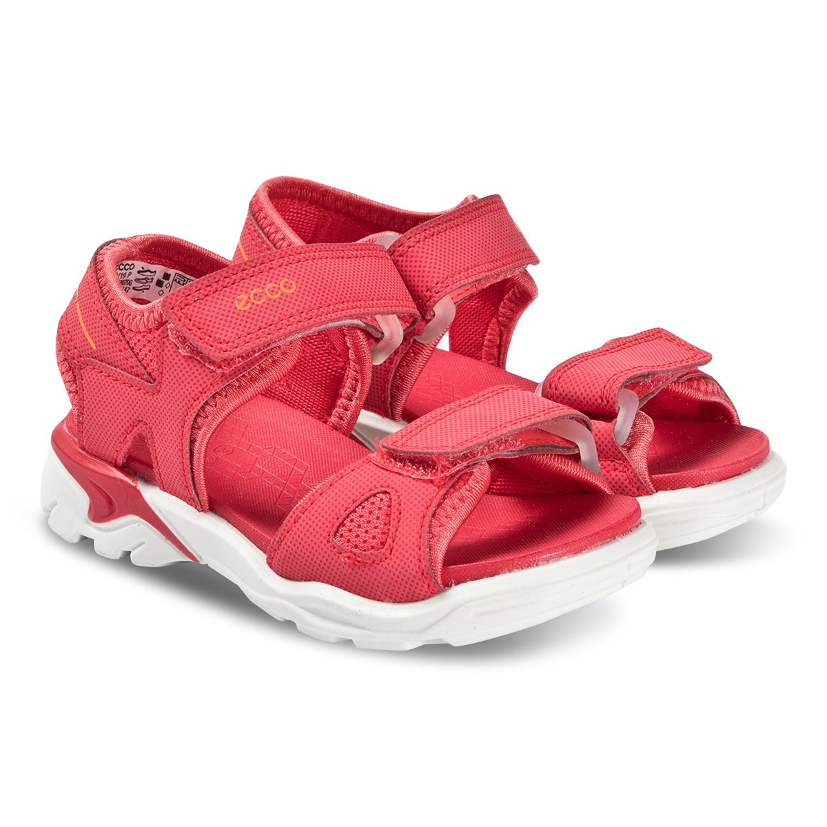 ECCO Teaberry Synthetic Biom Raft Sandals