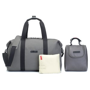STORKSAK | Storksak Charcoal Bailey Weekender Changing Bag One Size | Goxip
