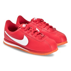 NIKE | Nike Red Nike Cortez Basic Trainers 39 (UK 6) | Goxip