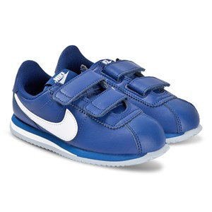 NIKE | Nike Blue Nike Cortez Basic 2V Trainers 33 (UK 1) | Goxip