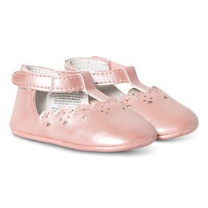 MAYORAL | Mayoral Pink T-Bar Crib Shoes 19 (12 Months) | Goxip