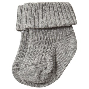 MP | MP Grey Marl Turn Down Baby Socks 2 (22/24) | Goxip