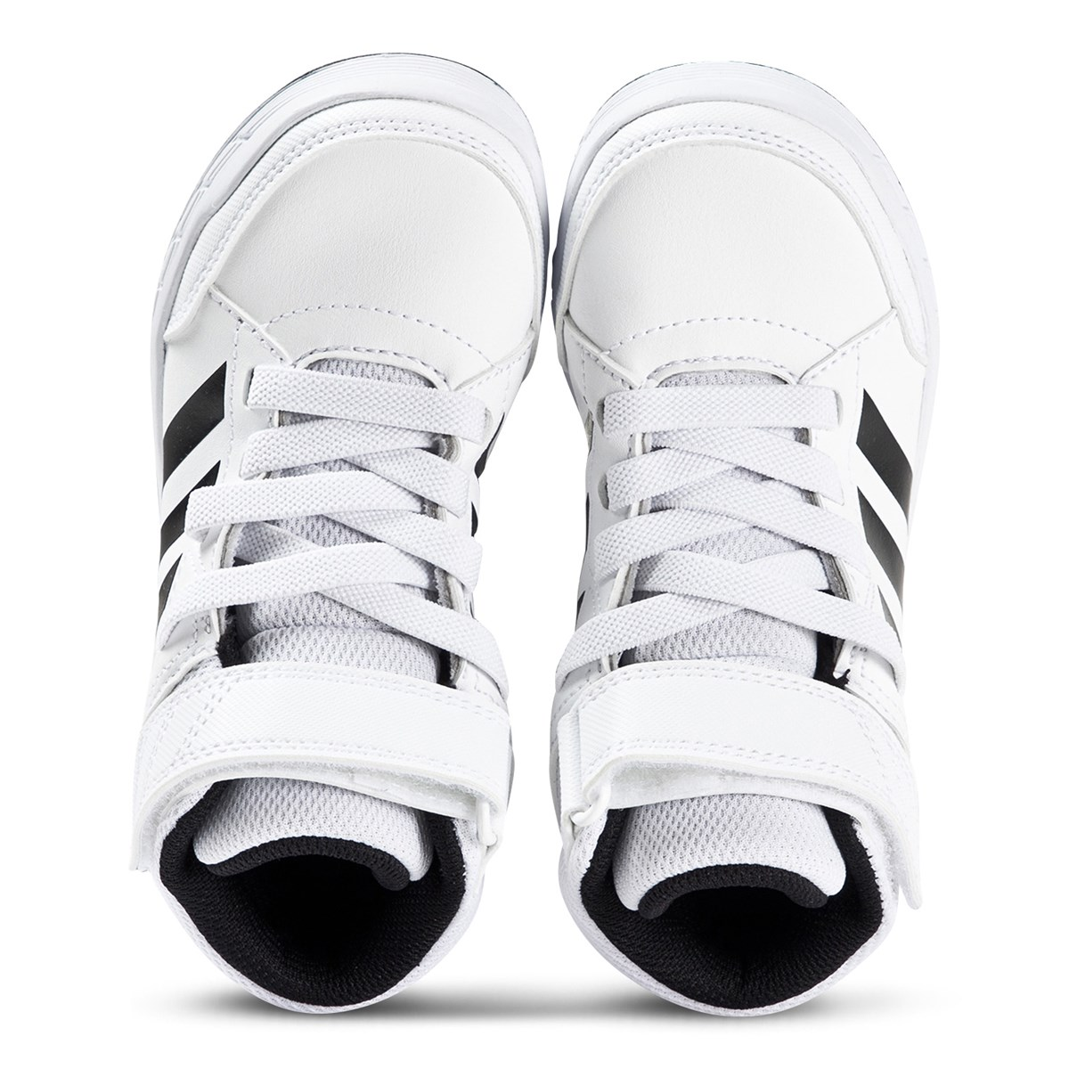 adidas Performance White & Black AltaSport Mid Running Trainers | AlexandAlexa